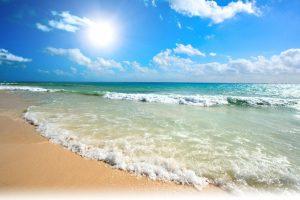 Figueira da Foz: Verão ensolarado, céu azul e bom tempo