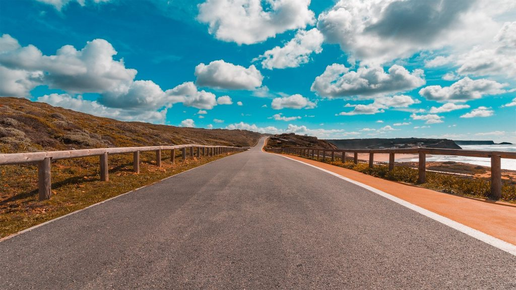 Road in Portugal